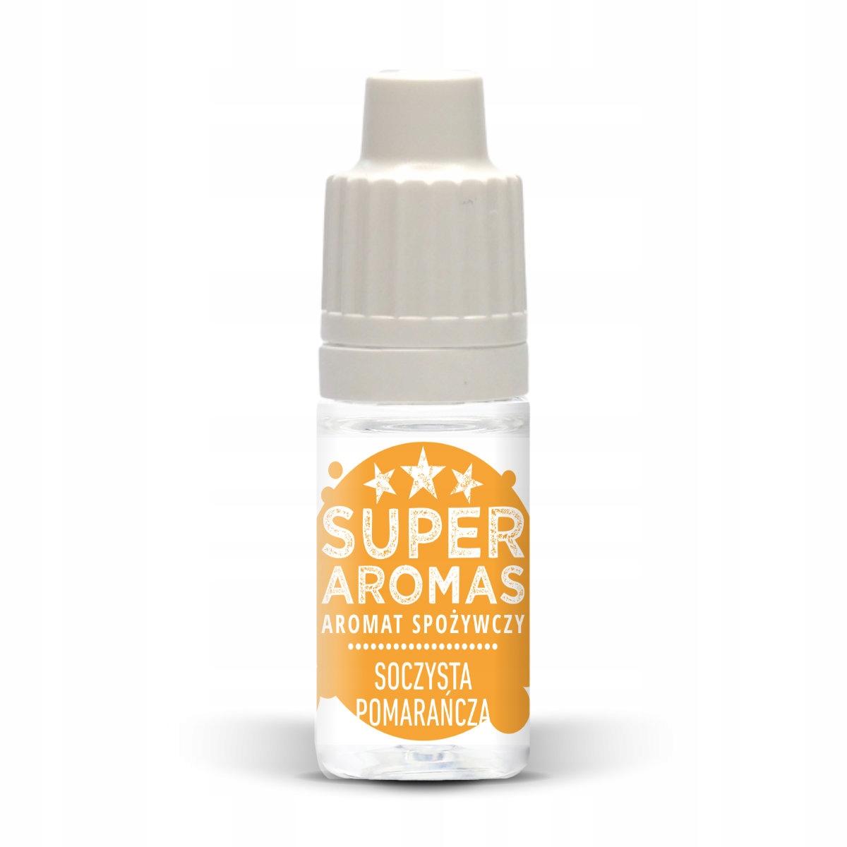Пищевой ароматизатор: сочный апельсин 10 мл.