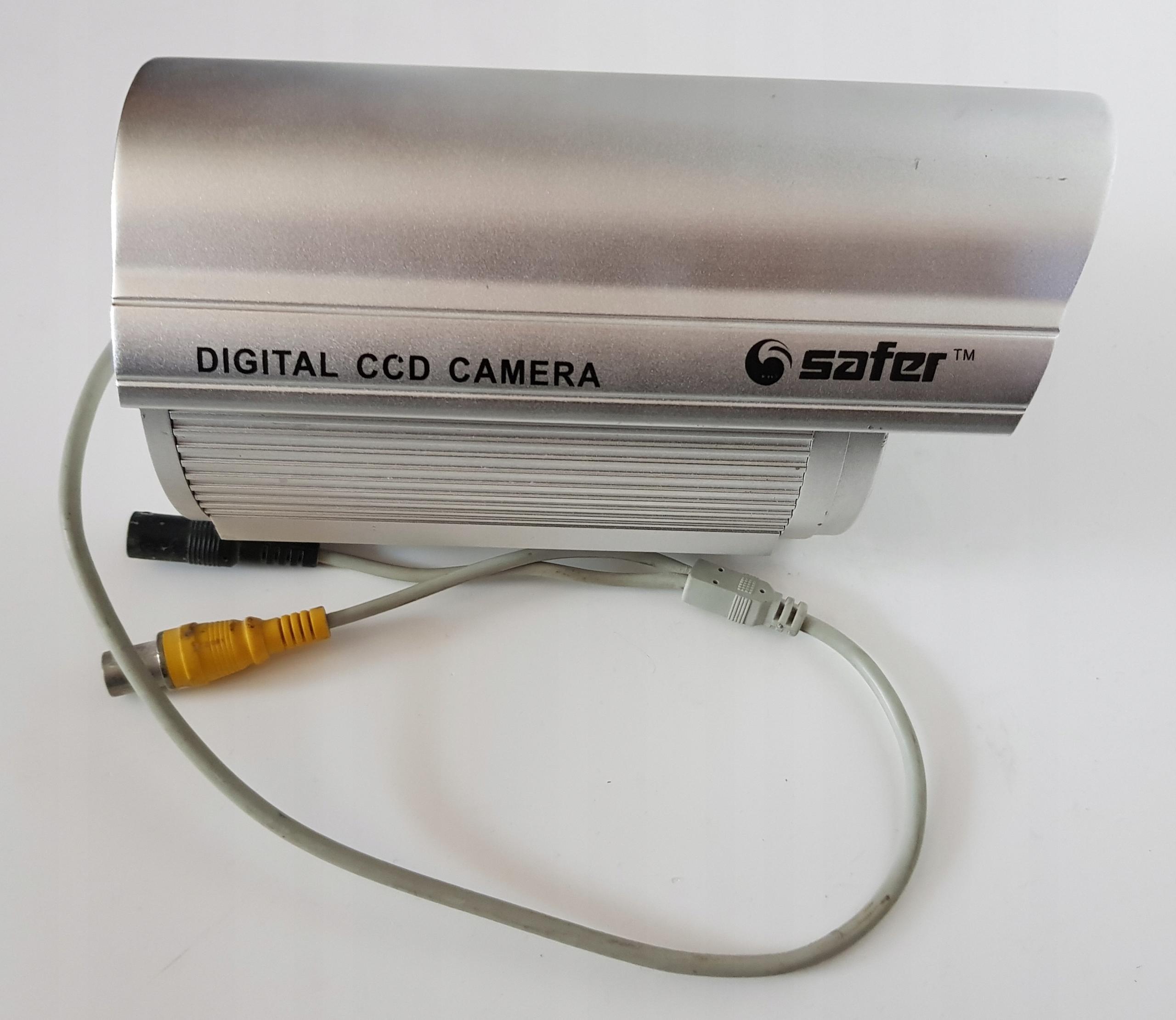 Poškodená CCD kamera
