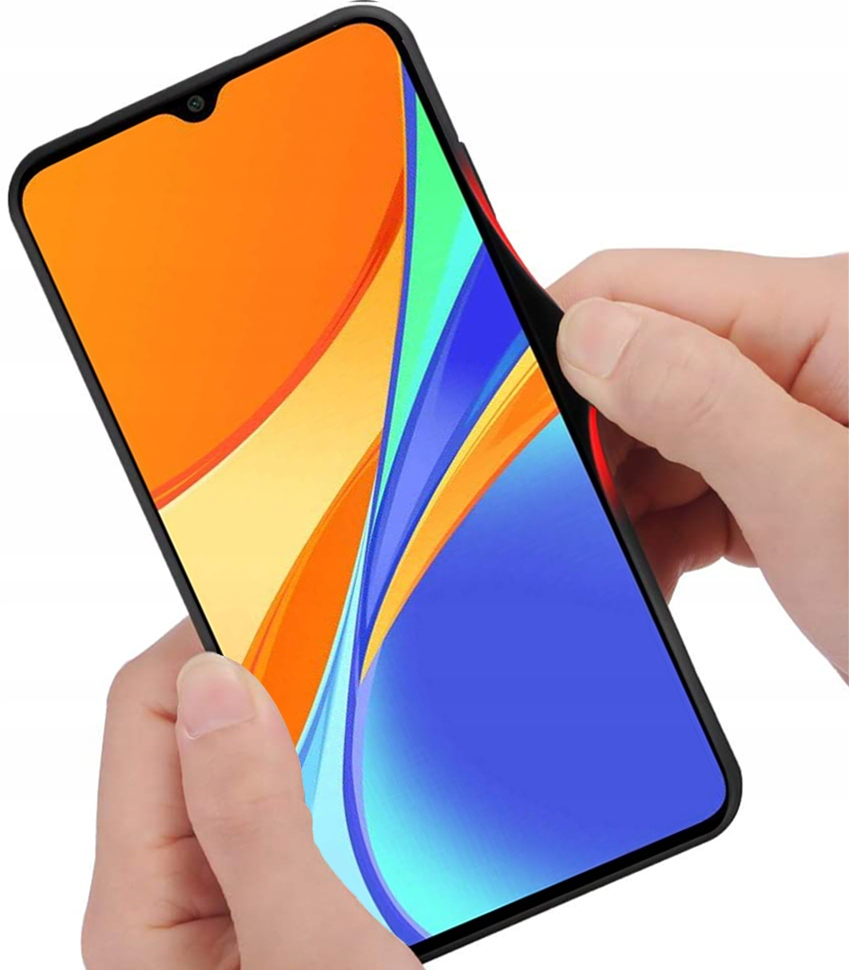 Etui do Xiaomi Redmi 9C Case Glass + Szkło 9H Producent Kraina GSM