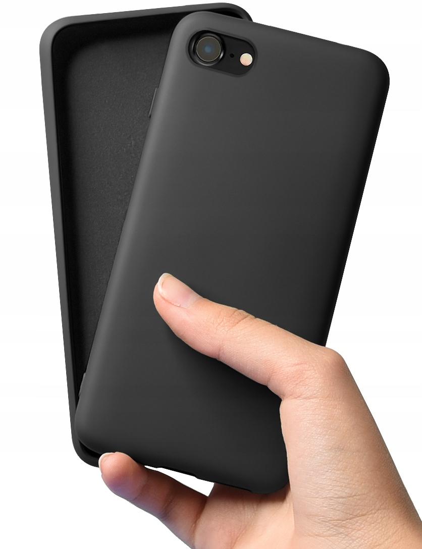 Etui do iPhone SE 2020 Case Silicone + Szkło 9H Dedykowany model iPhone 7 8 SE 2020