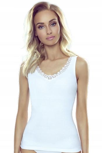 Koszulka biała na ramiączkach Eldar Gwen M