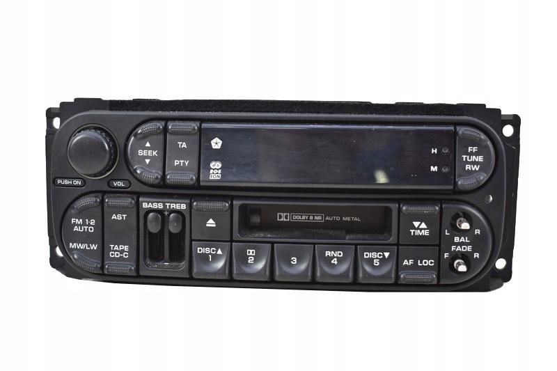 радио кассеты кассетные rds chrysler 300m 99r