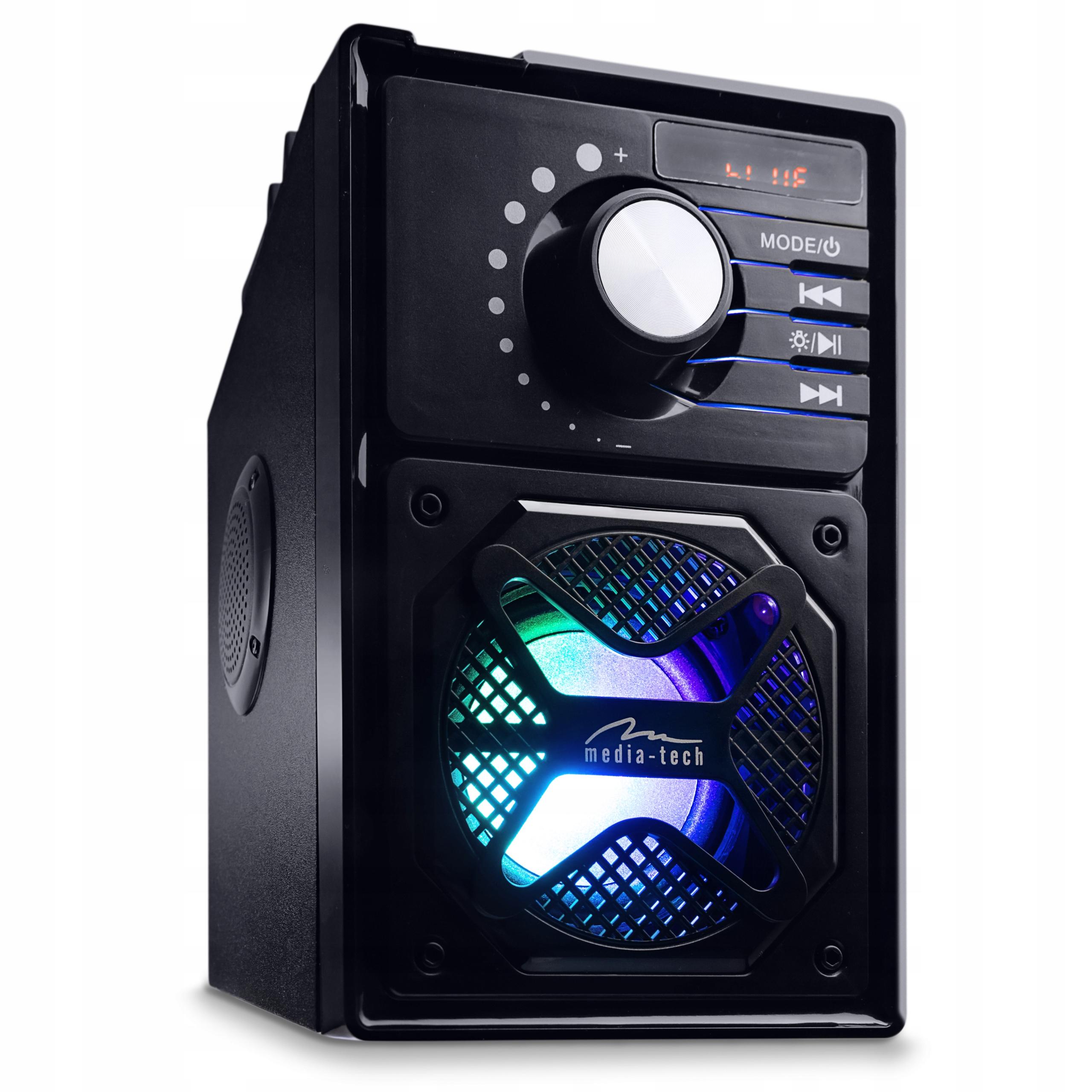 BOOMBOX KOLUMNA 600W BEZPRZEWODOWY ODTWARZACZ MP3