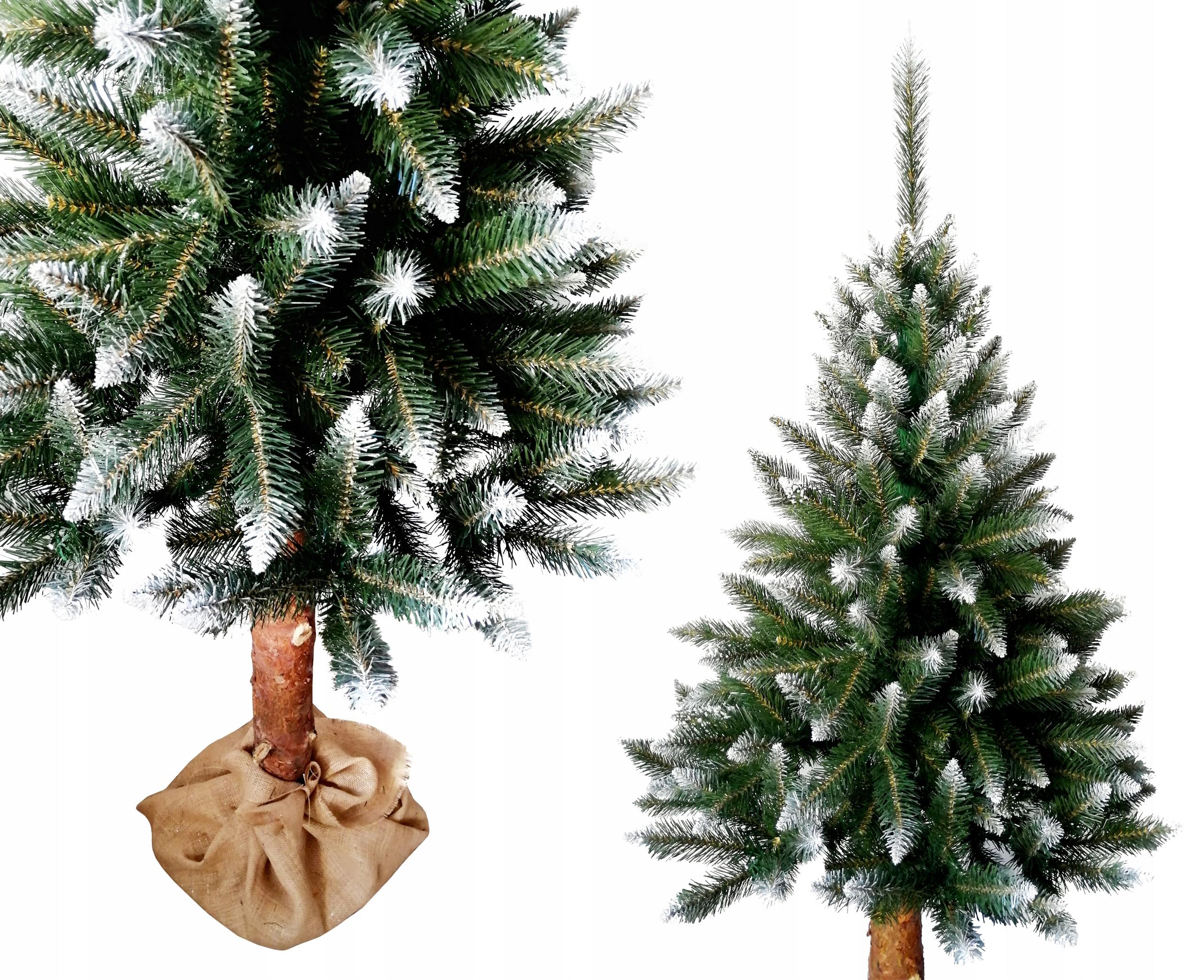 Umelý vianočný stromček na kufri DIAMOND CHRÓM 1,6m