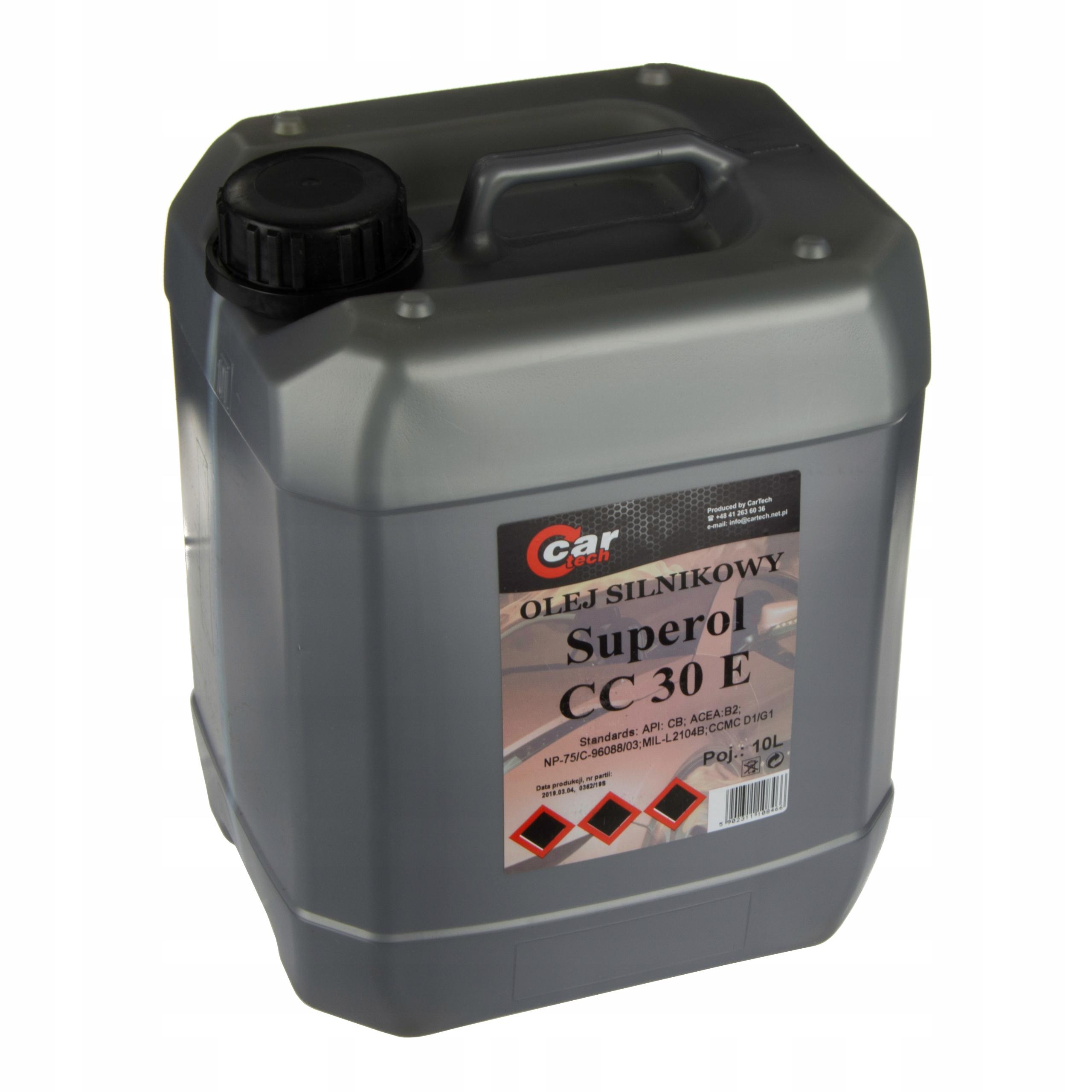 Superol CC 30 10L BDG Jednorazový olej