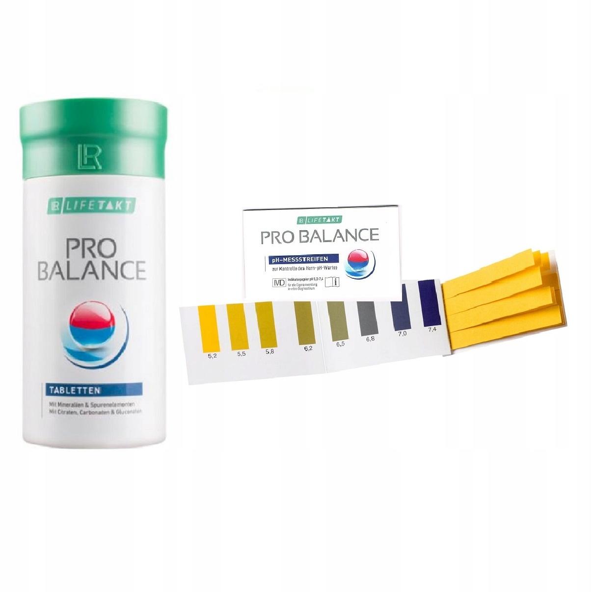 Zestaw ODKWASZANIE ORGANIZMU Pro Balanc + paski pH