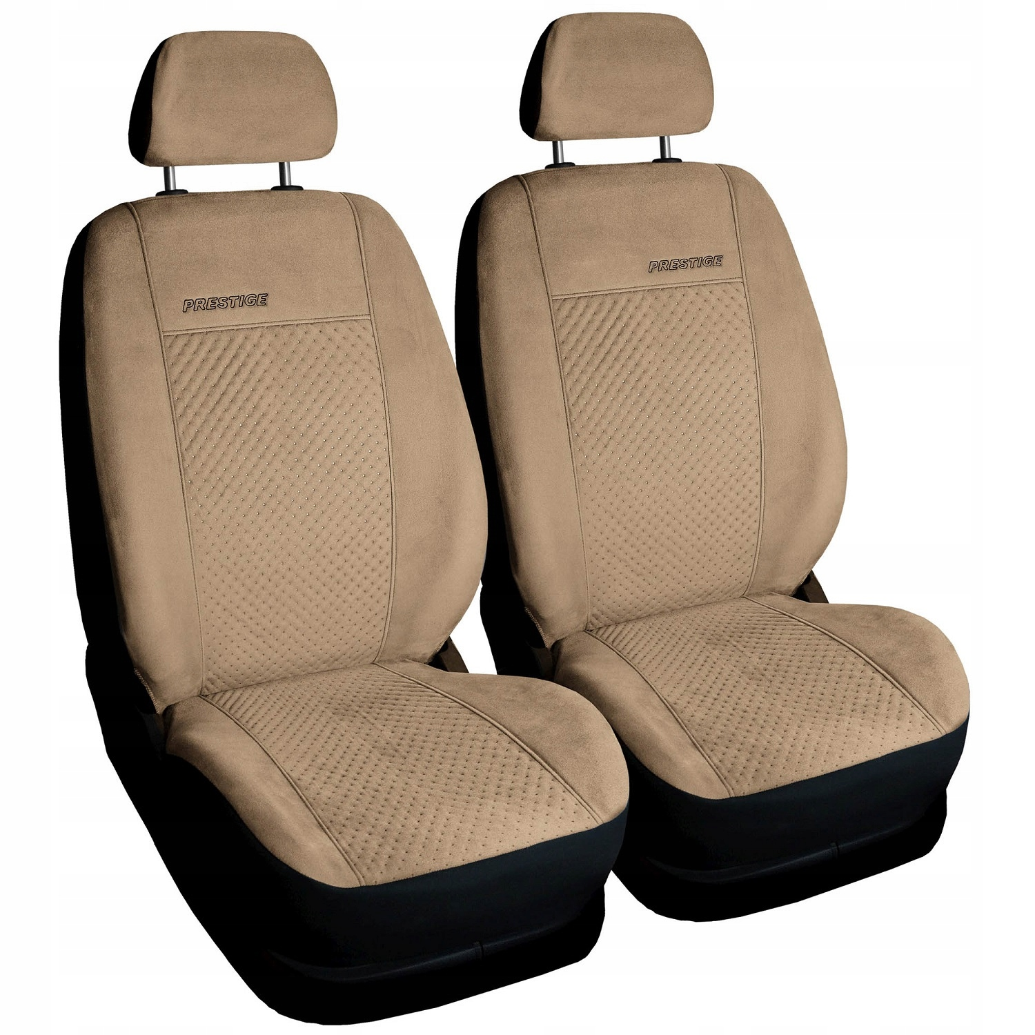 Picture of COVERS UNI SUEDE LEATHER FRONT 1+1  FIAT SEICENTO