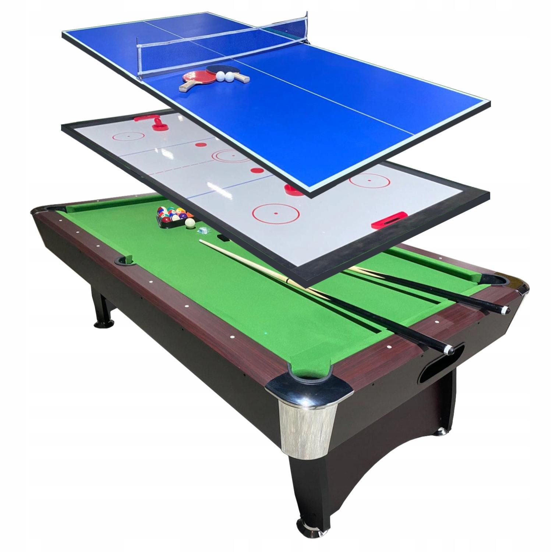 Бильярдный стол с накладкой для пинг-понга для аэрохоккея 7FT