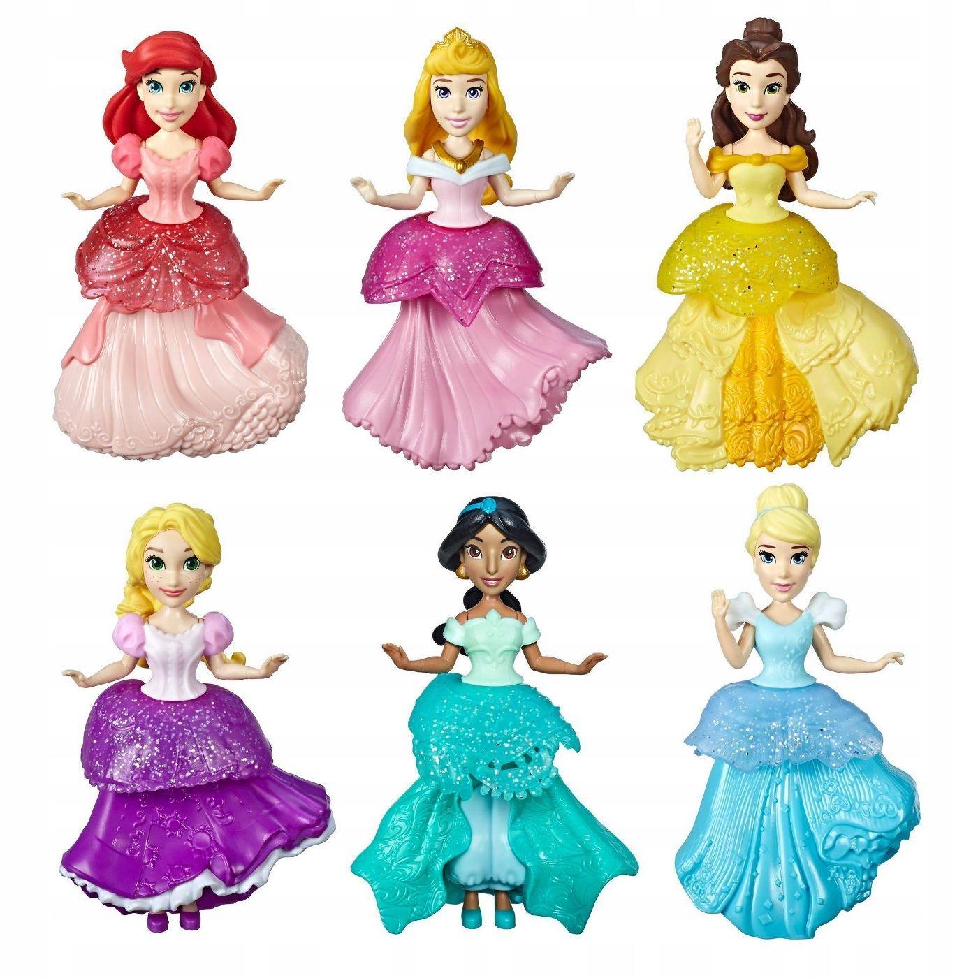 Disney princezné bábiky 6 KS ROYAL CLIP