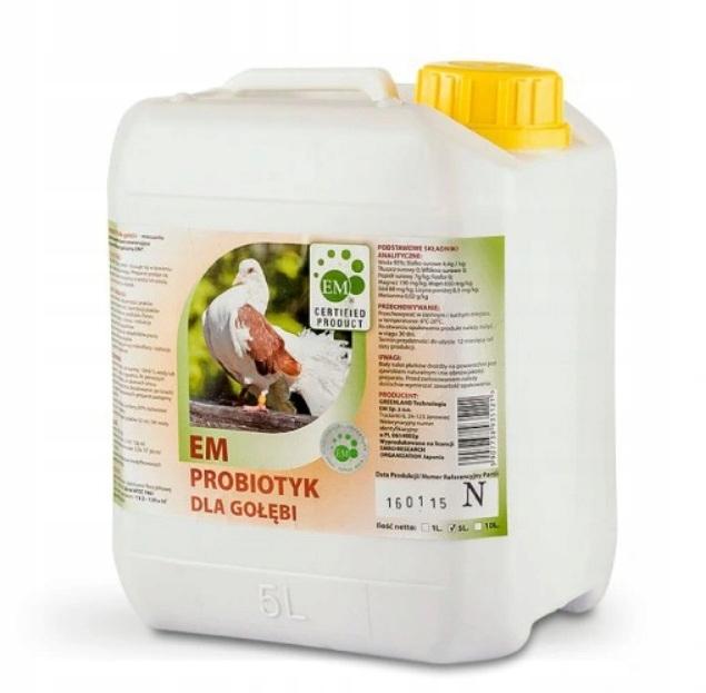 Пробиотик Greenland EM для голубей 5л
