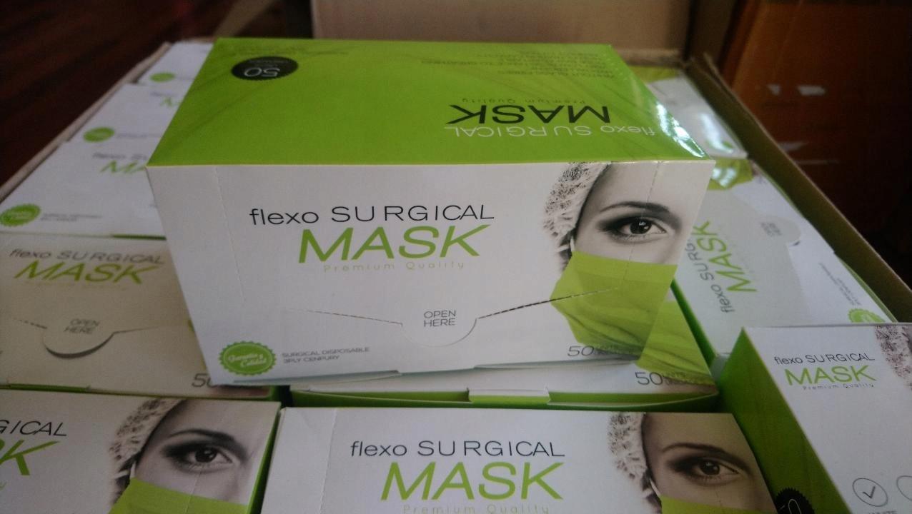 Maska 3 chirurgické vrstvy 100 ks