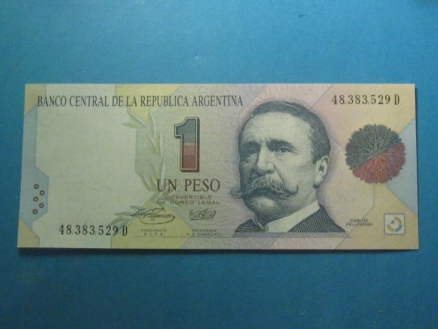 Argentyna Banknot 1 Peso 1993 !! UNC P-339b
