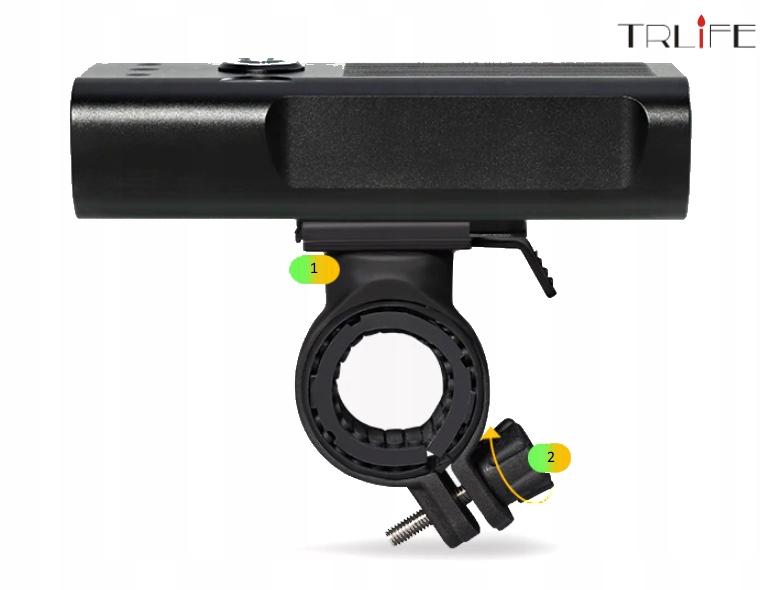 Lampa rowerowa TRLiFE NX3 1600lm 5200mAh PowerBank Model NX3 L2