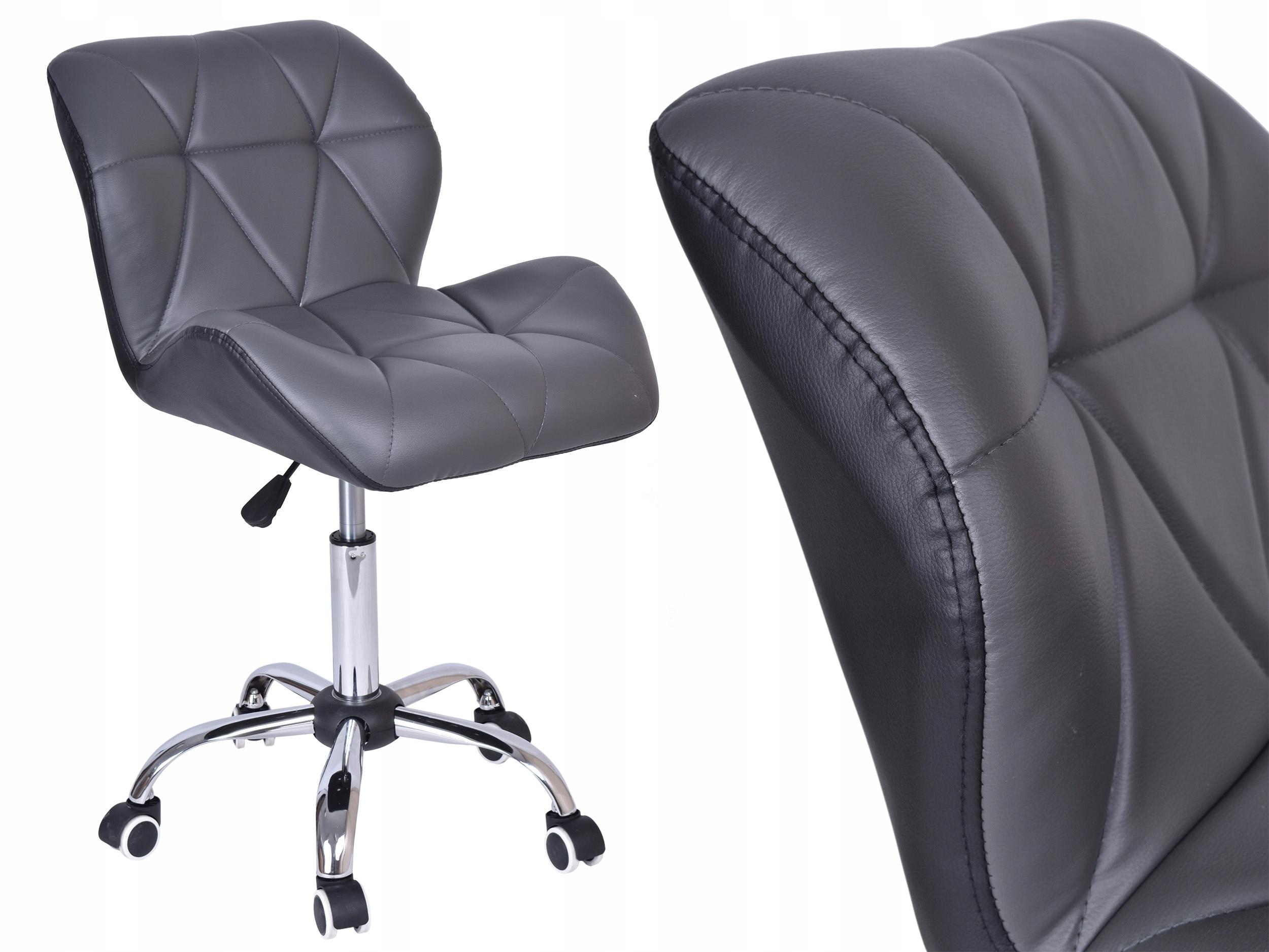 Otočná stolička čierna-sivá