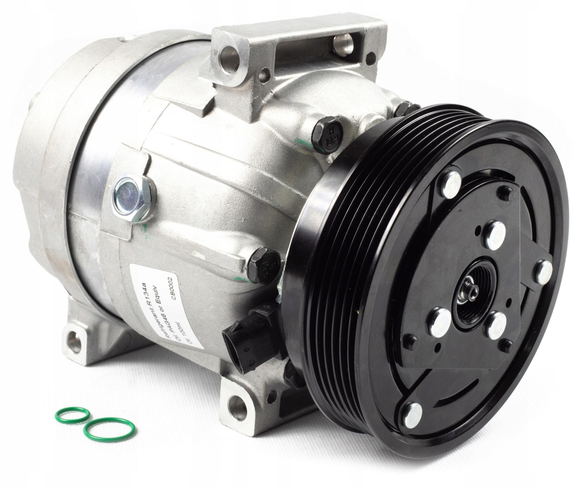 компрессор кондиционирования воздуха renault megane i 99-03 новая