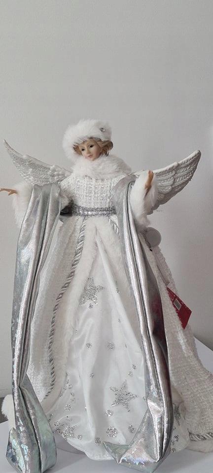 Кукла ангел ангел LED 40см