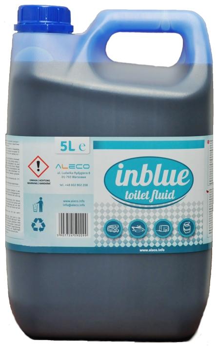 Купить INBLUE 5л Жидкость для туристического туалета, концентрат на Otpravka - цены и фото - доставка из Польши и стран Европы в Украину.