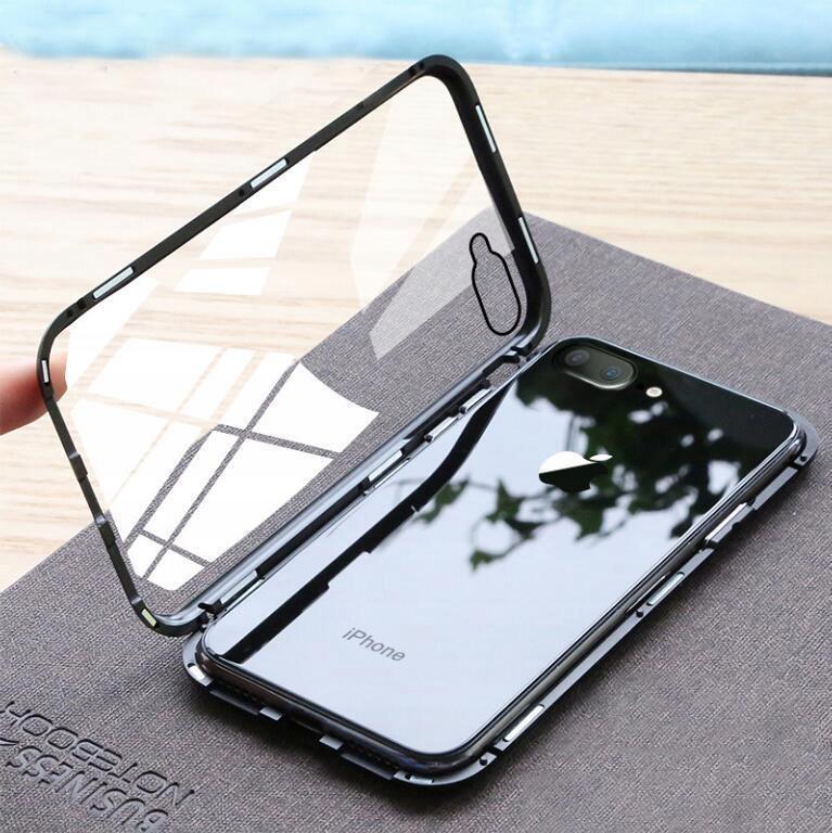 Etui Magnetyczne 360° do iPhone 7 Plus / 8 Plus Dedykowany model iPhone 7 Plus / 8 Plus
