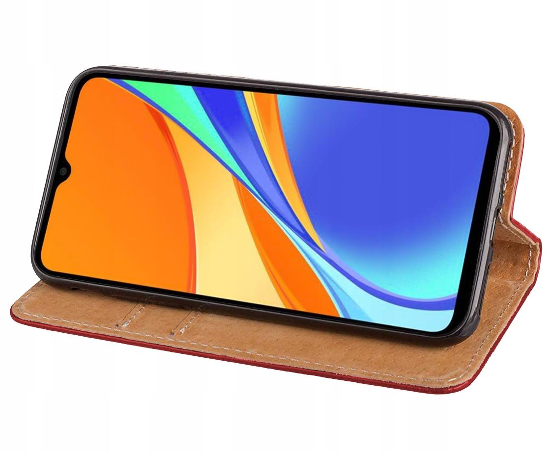 Etui do Xiaomi Redmi 9C Skórzane Portfel + Szkło Kod producenta 17371564