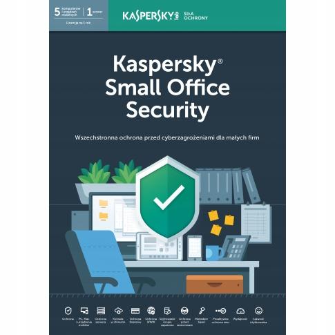 Kaspersky Small Office Security 5PC+1srv na 1 rok