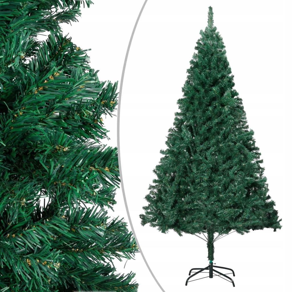 Umelý vianočný stromček s hrubými vetvičkami, 150 cm, PVC