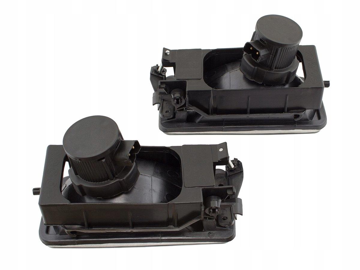 halogeny z ramką TUNING clear dymione do BMW 3 E36 3