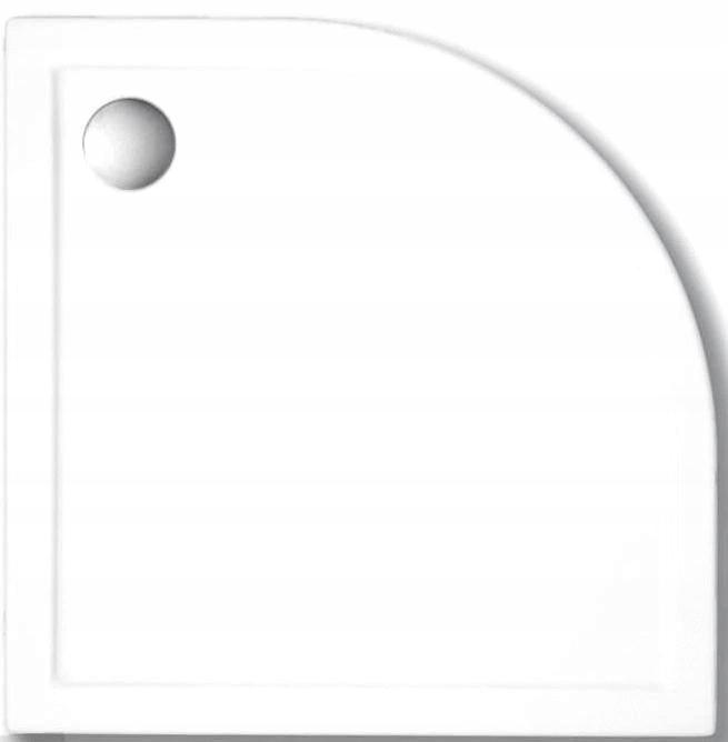POLOMIERKOVÝ SPRCHOVÝ ZÁSOBNÍK SANITA PLUS 100x100x5,5 cm