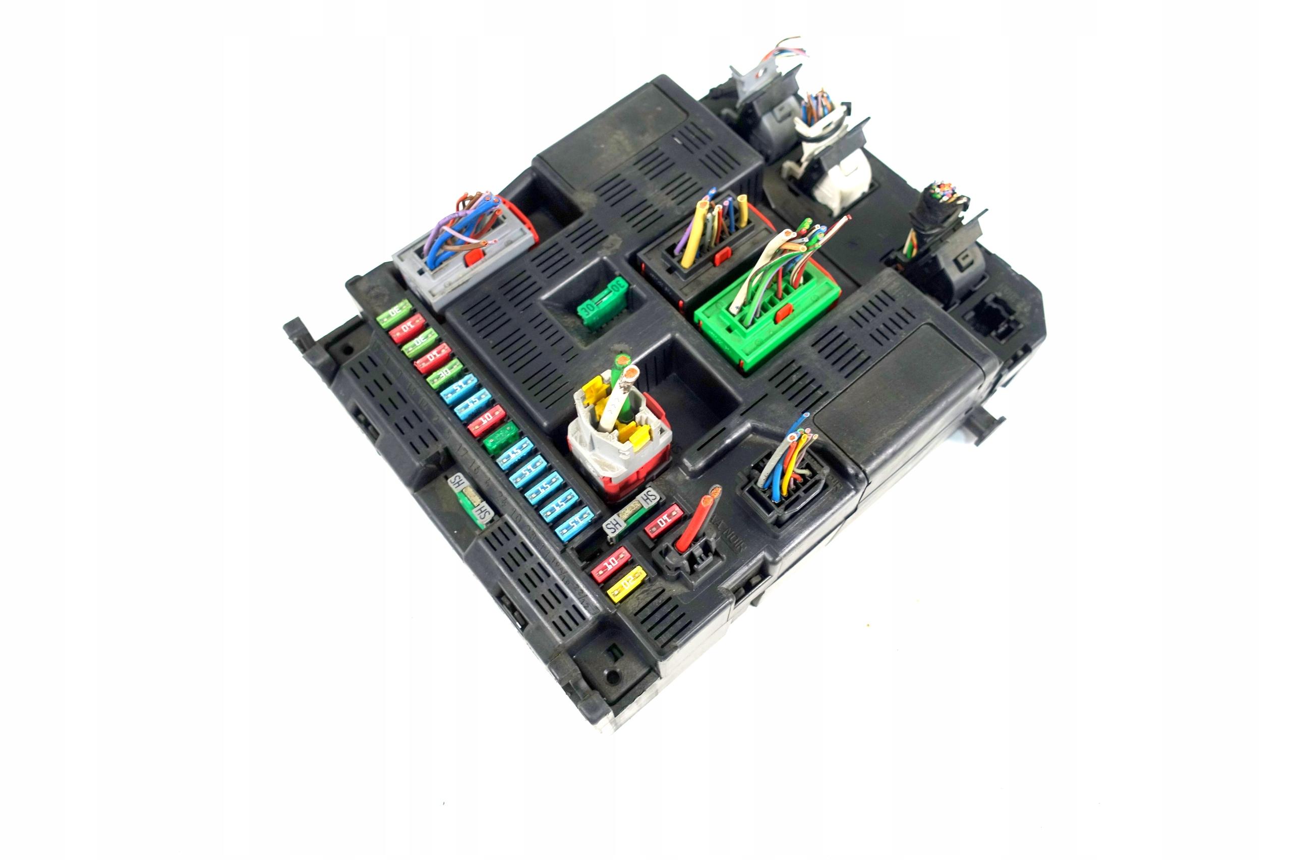почтовый предохранителей модуль bsi peugeot 307