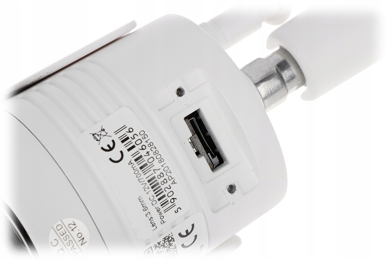 Kamera zew TUBOWA WIFI 3,6mm 5Mpx mSD do 128GB Marka LONGSE