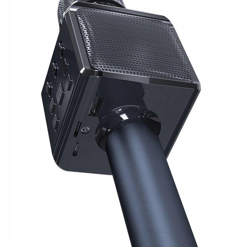 Bezprzewodowy mikrofon do karaoke Bluetooth Dudao Model Y16 black