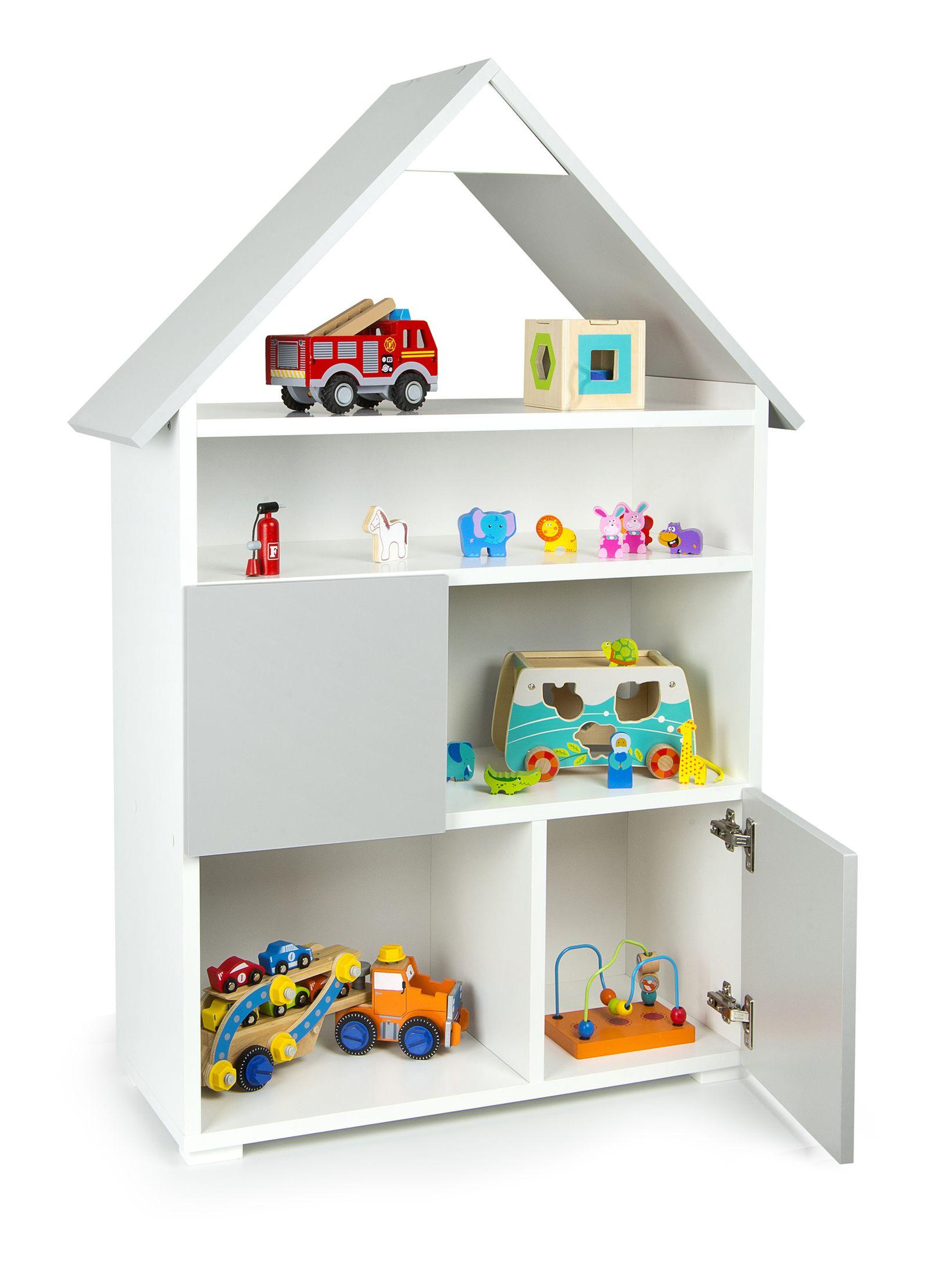 Книжный шкаф домашний с 6 отделениями и шкафами Чатка 117