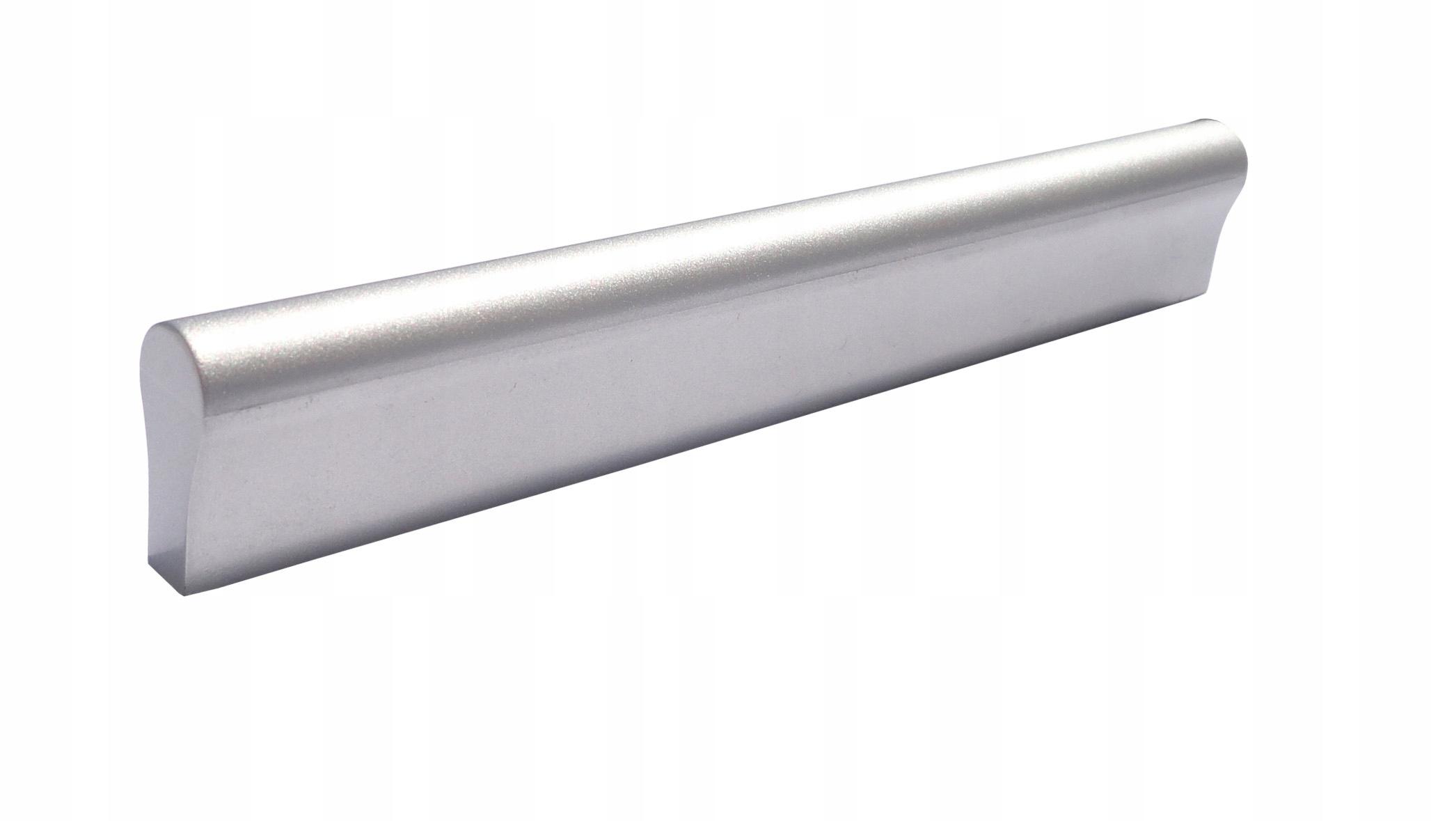 Uchwyt meblowy rączka Srebrny 96mm 128mm + wkręty