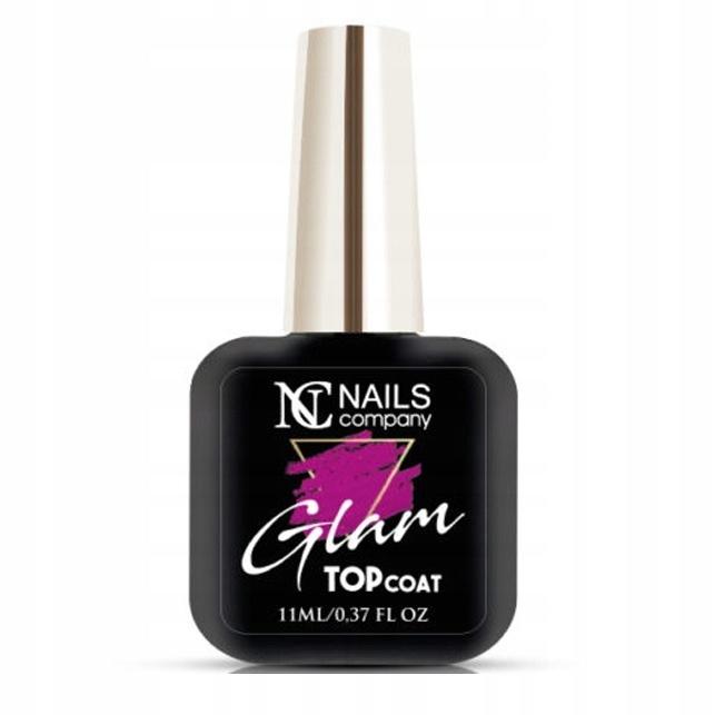 Купить Глэм-верх Nails Company розовый 11мл без протирания на Otpravka - цены и фото - доставка из Польши и стран Европы в Украину.