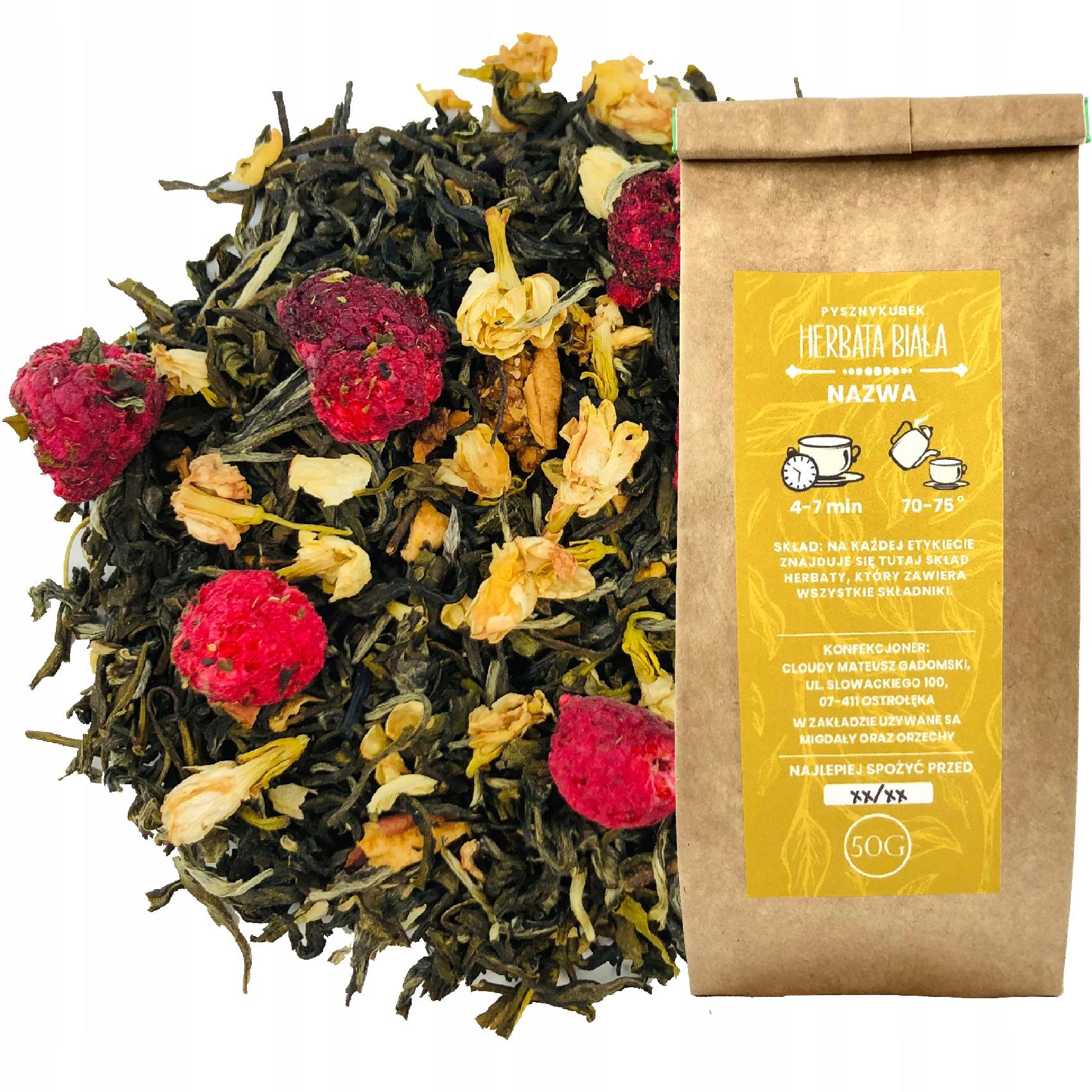 Белый чай FUJIAN WHITE GRAND'S GARDEN 50G