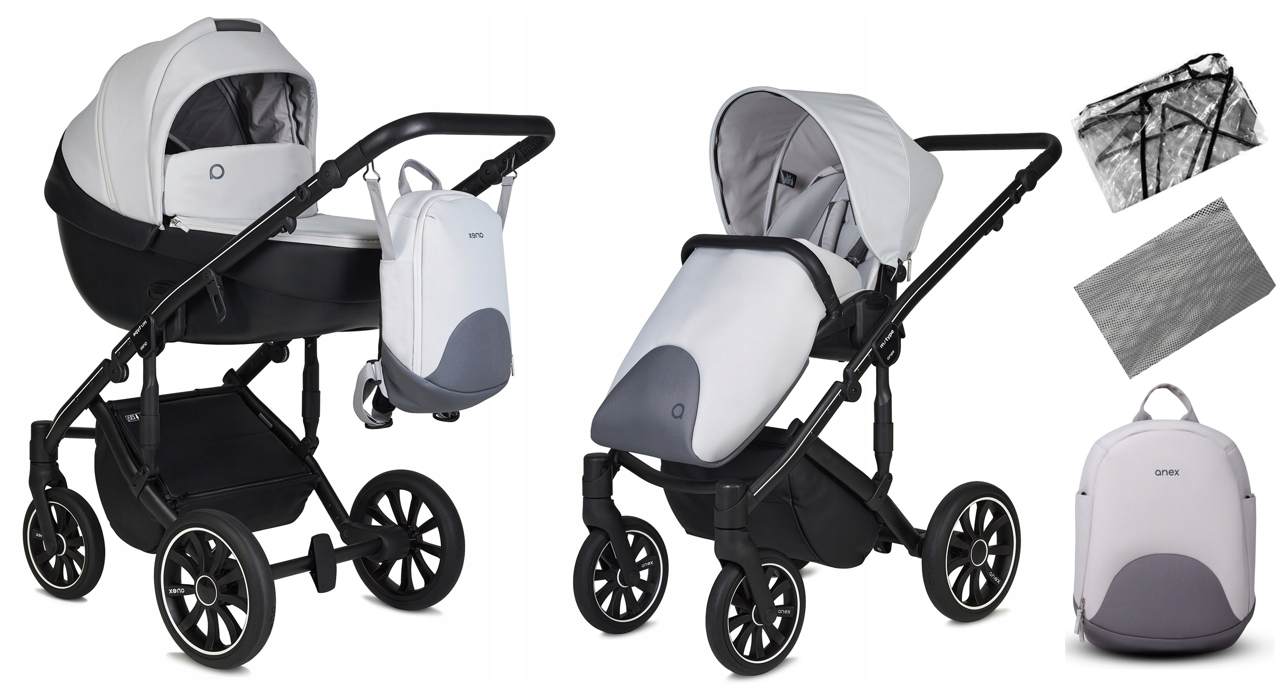 ANEX wózek wielofunkcyjny 2w1 M/TYPE INVERSE 9922442497 - Allegro.pl