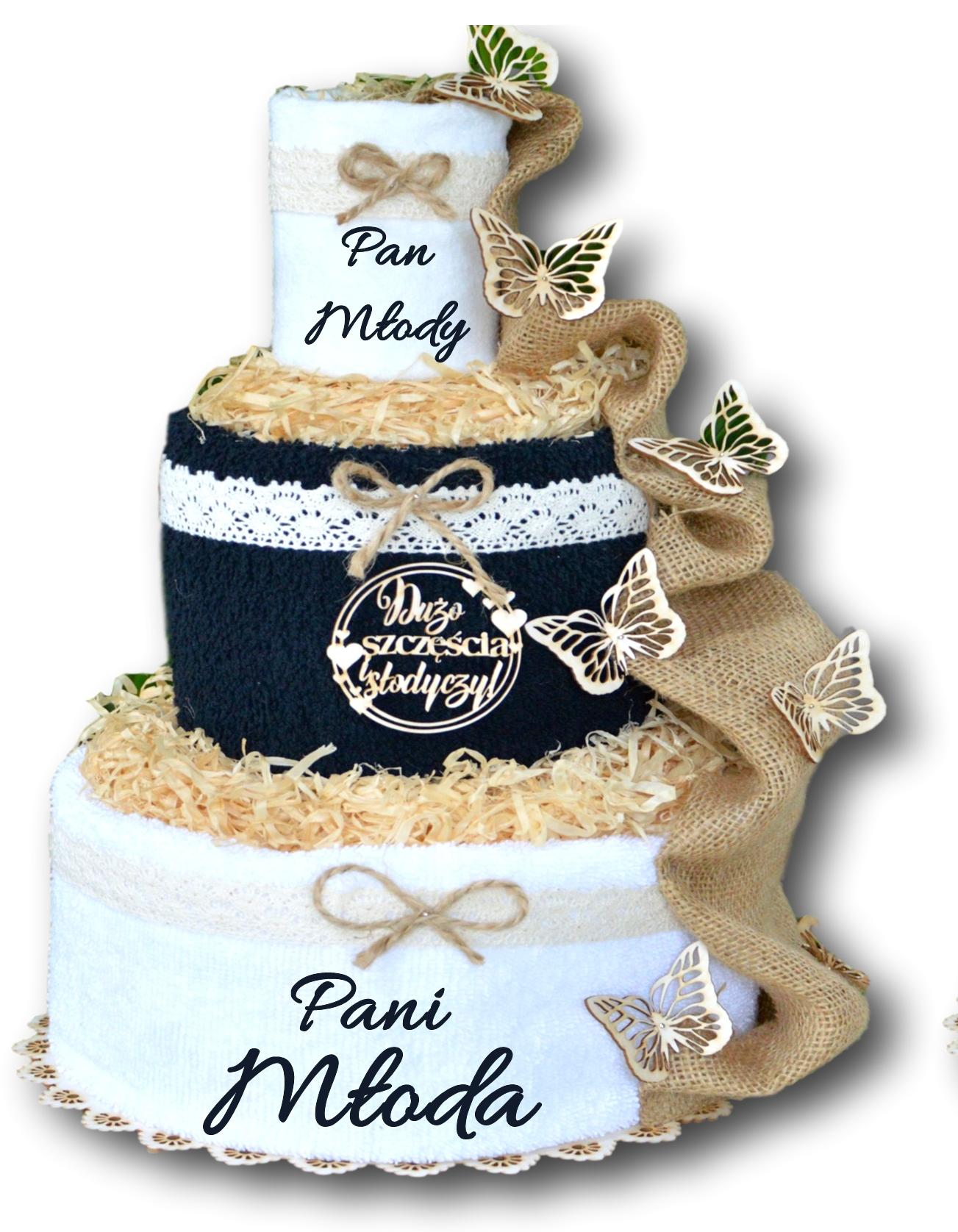 ТОРТ ИЗ ПОЛОТЕНЦА вышивка подарок на годовщину свадьбы