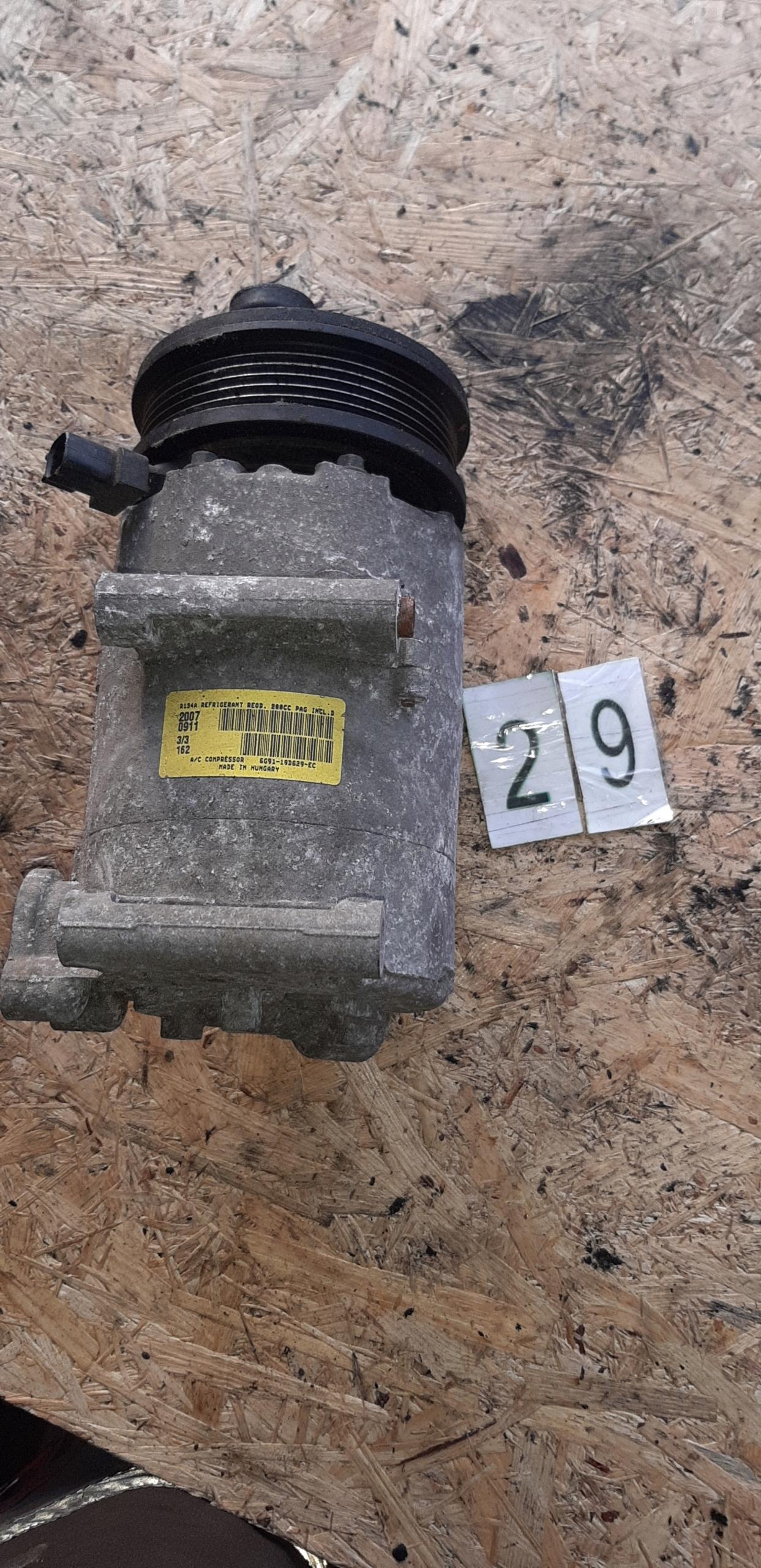 ford mondeomk4 компрессор кондиционирования воздуха 6g9110d629ec