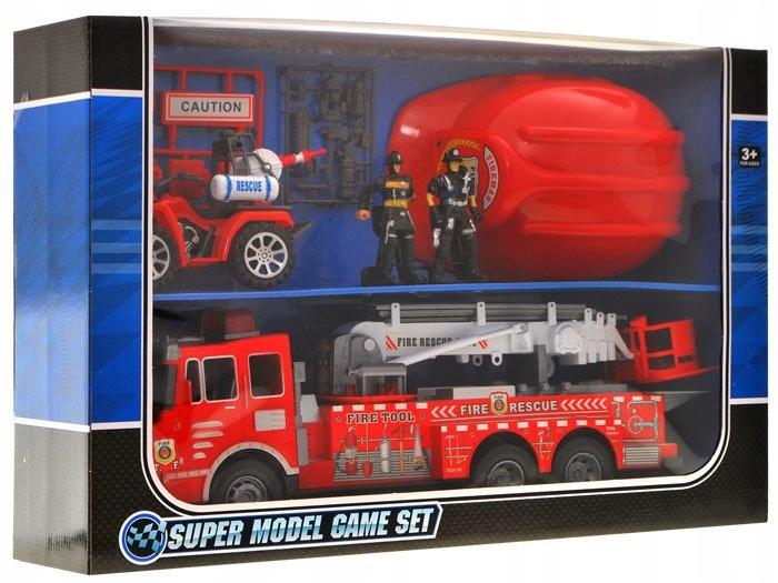 Duża Straż Pożarna Auto Kask quad strażacy ZA1158 Kod producenta ZA1158