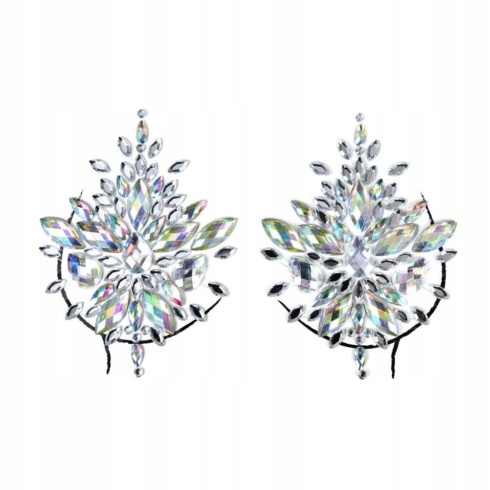 diamentowe naklejki na sutki piersi