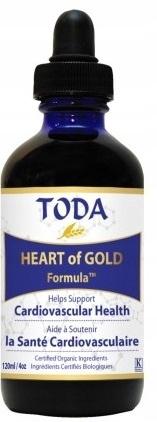 TODA Krople HeartofGold Formula 120 ml Kanadyjskie