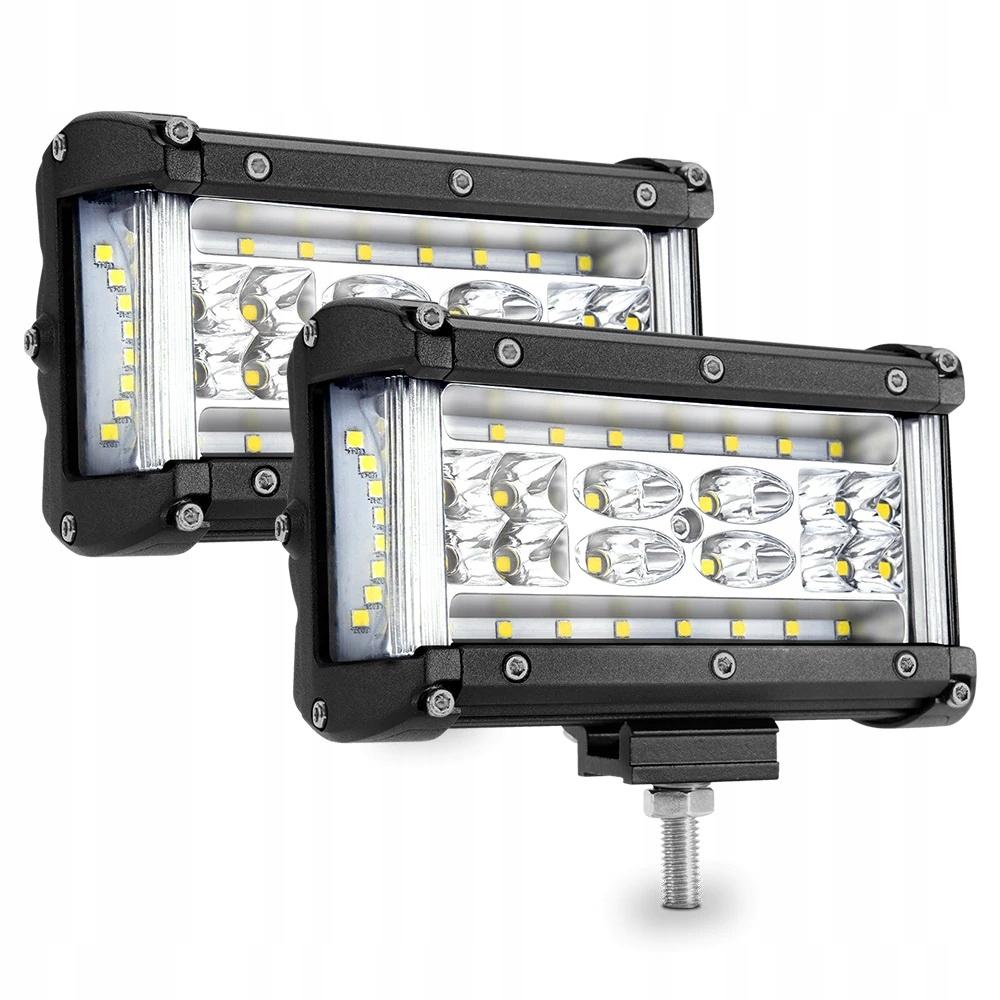 комплект 2 x галоген лампа рабочая led - 210w 12-24v