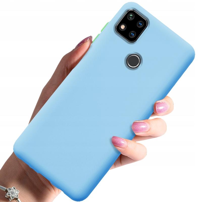 Etui do Xiaomi Redmi 9C Case Silikon + Szkło 9H Dedykowany model Xiaomi Redmi 9C