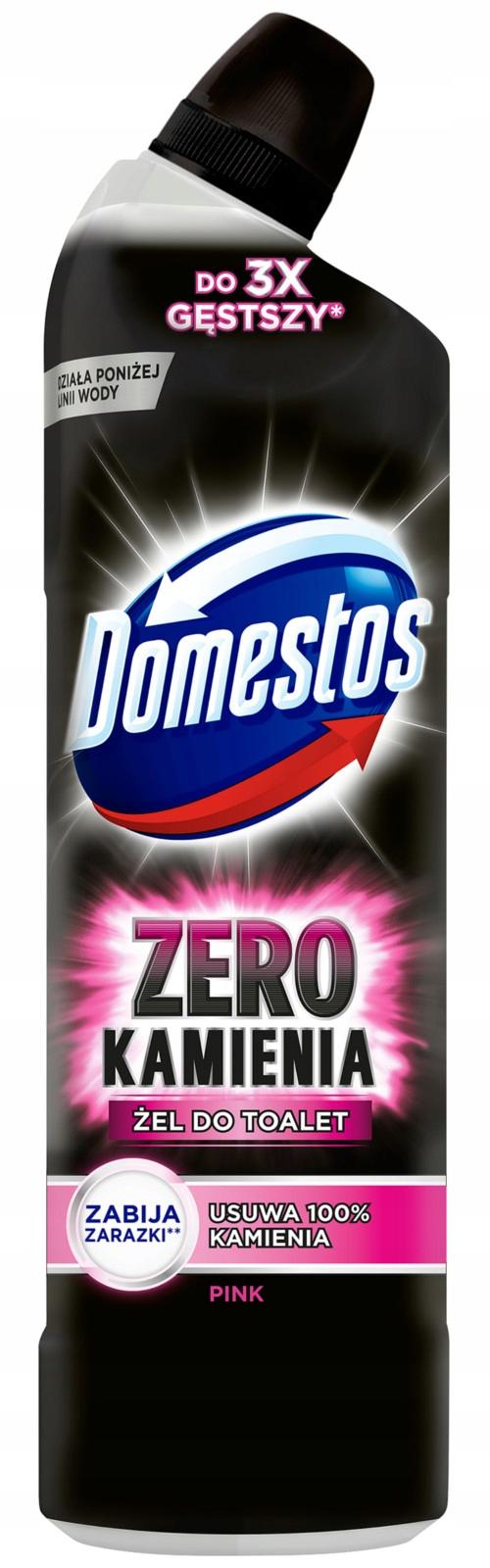 Domestos Zero Камня Розовый Гель Розовый WC 750 мл