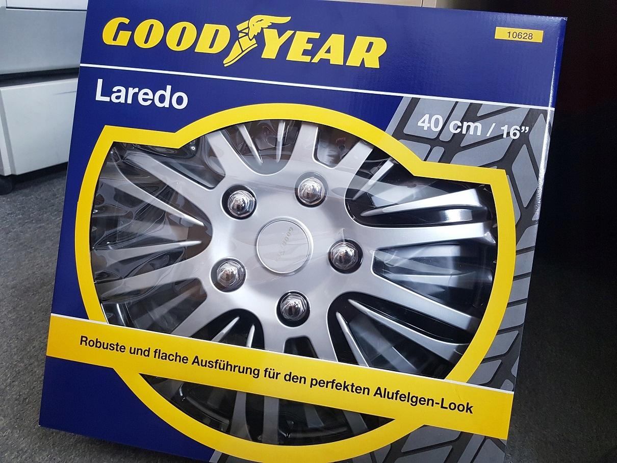 Купить 4x автомобильных колпака Goodyear Laredo 16 дюймов на Otpravka - цены и фото - доставка из Польши и стран Европы в Украину.