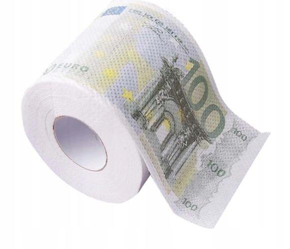 PAPIER TOALETOWY 100 EURO XL DLA KREDYTOBIORCÓW