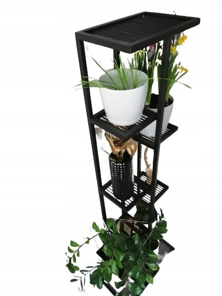 Многоуровневая подставка для цветов, высокая клумба