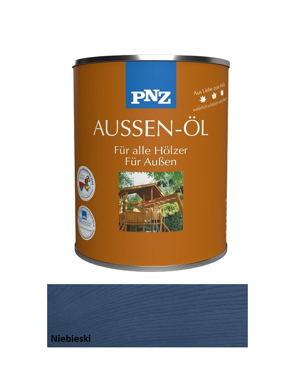 PNZ Olej do tarasów 2,5L Niebieski