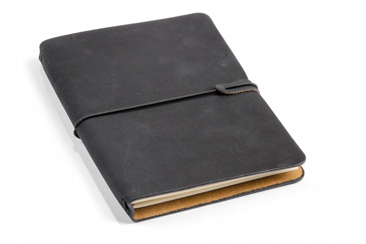 Notebook RETRO A5 s ekokožou a 2 notebookmi