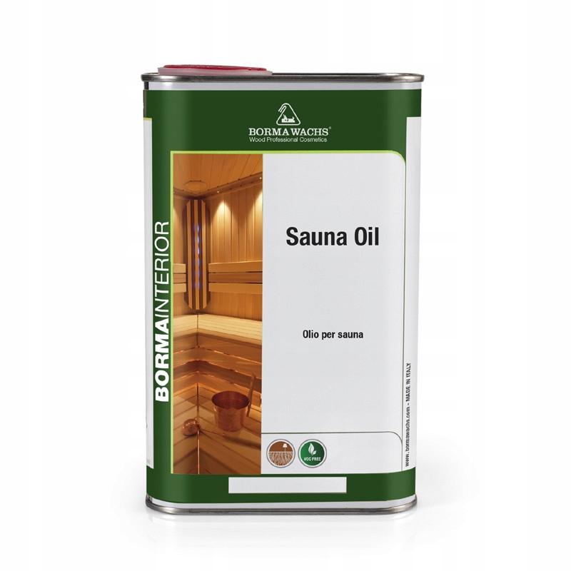 Olej Ekologiczny Do Konserwacji Sauny 1Lt
