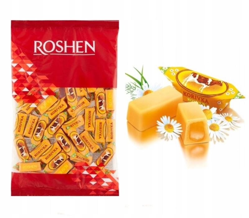 Купить Фадж молочные конфеты Roshen 1 кг фаджа на Otpravka - цены и фото - доставка из Польши и стран Европы в Украину.